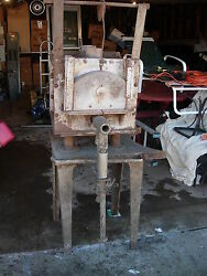 Vintage Heat Treat Furnace From A Tool And Die Shop Used - Natural Gas