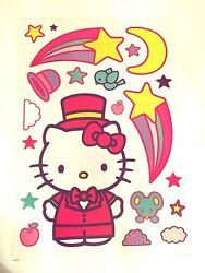 Sanrio Hello Kitty Wall 60 Decal amp; Sticker decorations RemovableReusable NEW