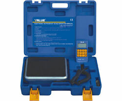VALUE DIGITAL REFRIGERANT RECOVERY & CHARGE SCALE VES-100A 100KG