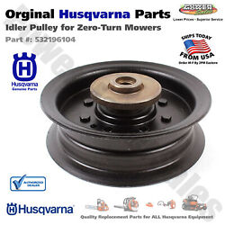 Husqvarna Idler Pulley For Zero-turn Mowers And Tractors / 532196104 532197380