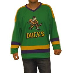 Mighty Ducks Hockey Jerseys Choose Player Names Movie Uniform 90s Costume Gift