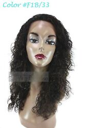 Sensual 100 Indian Remi Wet And Wave Curly Lace Passion Wave 19 Lace Front Wig