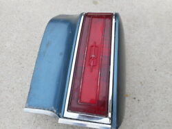 1977 Oldsmobile Cutlass Supreme Right Hand Tail Light And Housing