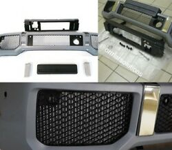 Front Bumper Full Set With Hooks For Mercedes W463 Brabus Widestar Style