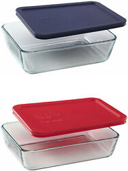 Pyrex Simply Store 3611-cup Rectangular Glass Food Storage Dishes