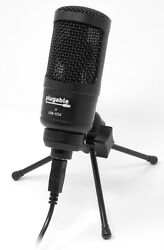 Plugable USB Cardioid Condenser Microphone with Desk Stand USB-VOX