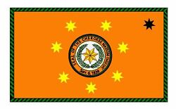 Cherokee Nation Flag Sticker Decal F637