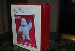 2005 Hallmark Rudolph And Bumble The Abominable Snowmonster Snowman Xmas Ornament