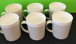 Vintage Set Of 6 1960s Therm Ware Cups By David Douglas And Co Collectibles