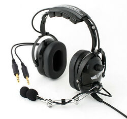 Brand New Rugged Air Low Cost Ra200 General Aviation Pnr Headset For Pilots