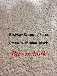 Tire Balancing Beads - 500 Oz- Small Size- Plus 50 Free Filtered Cores