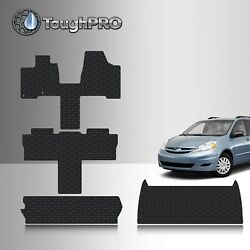 ToughPRO Full Set Black For Toyota Sienna 7 Seater All Weather 2004 2010 $139.95