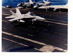 Boeing F18 Hornet Vmfa312 Cvw8 Navy Fighter Aircraft Photograph 8x10 Color