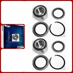 Front Hub Bearing And Seal W/snap Koyo/genuine For Toyota Tundra 2000-2006 Pair