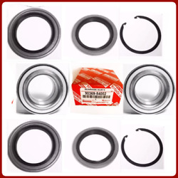 2 Front Wheel Bearing Andseal W/snap For Toyota Tundra 2000-2006 9036954002 New