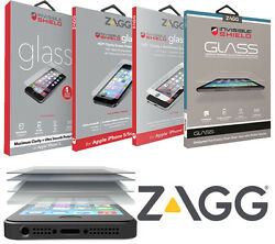 Authentic ZAGG InvisibleShield Tempered Glass Privacy Screen Protector for Phone