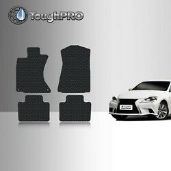 Toughpro Floor Mats Black For Lexus Is Awd All Weather Custom Fit 2014-2022