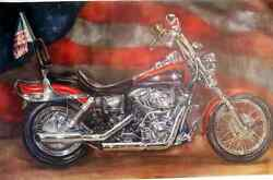 Reflecton Of Freedom Oil On Canvas Giclee
