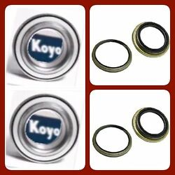 2 Front Hub Bearing Koyo/genuine And Seal For Toyota Tundra 2000-2006 New