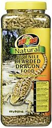 NEW Zoo Med 20 Ounce Natural Bearded Dragon Food Juvenile Formula FREE SHIPPING