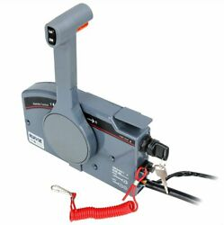 Rupse Outboard Remote Control Box Push Open For Yamaha 10 Pin Cable 703-48205