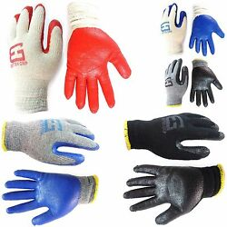 Better Grip Premium Double Dipped Latex Coated Work Gloves