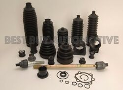 Rack And Pinion Bellow Boot -6 Piece Kit-2 Boots 4 Metal Clamps-fits Chrysler