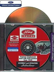 Ford Tractor Common Implements Used With Ford Tractors 1939-1953 Cd-rom