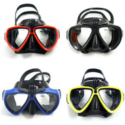 Gopro Diving Mask Goggles Diving Scuba Mask Silicon Swimming Glasse For Gopro