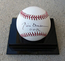 Psa/dna 42nd President Bill Clinton Signed Autographed Oml Baseball Perfect Sig