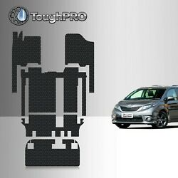 ToughPRO Heavy Duty All Weather Floor Mats Set For 2011 2020 Toyota Sienna
