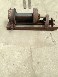 Vintage Ramsey Winch F20 20,000 Pound Winch With Friction Clutch Style Used