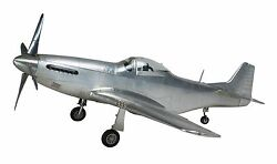 Airplane Wwii Mustang P-51 Fighter 26 Desktop Model Aircraft Authentic Models