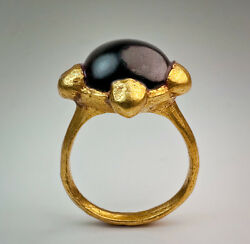 Rare Early Medieval Byzantine Gold Ring