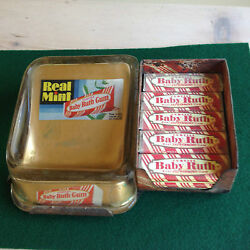 Rare Antique Babe Ruth Gum Display And Change Tray.