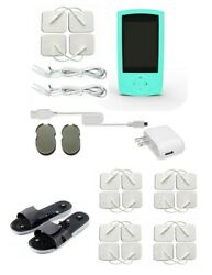 Tens Unit Pulsed Electronic Muscle Stimulator Massager Therapy Pain Relief 24m