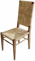 Set Of Two Diego 18 W Dining Chair Teak Wood Hand Crafted Spectacular Quality