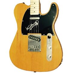 The Rolling Stones Signed Guitar Keith Richards Autographed Fender Telecaster