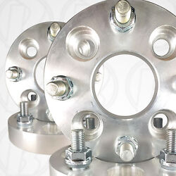 4pc Made In Usa 4 Lug 110mm To 4 X 4.5 114.3mm Wheel 1 Spacers