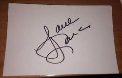 Lorna Luft Signed 6x4 White Card Movie Autograph Grease And Where The Boys Are