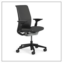 Steelcase Think Chair Adjustable Lumbar 4-way Arms Choice Of Frame Base
