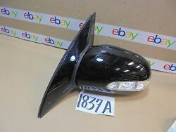 2006-2010 Mercedes R350 Pwr/fld Driver Side Mirror Used Power Black Color1837-a
