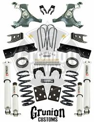 Chevy Silverado 1988-1998 4/6 - 5/7 Drop Kit W/street Performance Shock Belltech