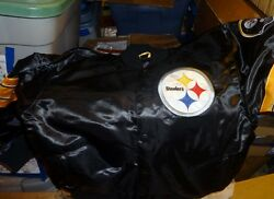 Pittsburgh Steelers Xxl Youth Runs Big Nice Cut Picture Satin