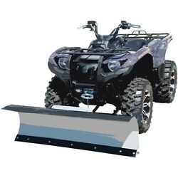 60'' T KFI Complete Snow Plow Kit w Mad Dog Winch Kit for 02-04 Arctic-Cat 500