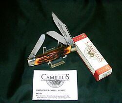 Camillus 89 Knife Sword Brand Usa Circa-1975 Indian Stag W/packaging,papers Rare