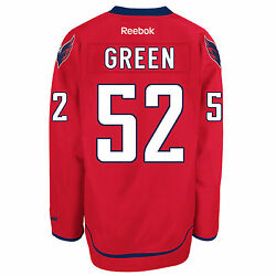 Mike Green Washington Capitals Reebok Premier Officially Licensed Nhl Jersey,
