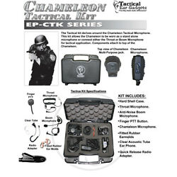 Tactical Ear Gadgets CHAMELEON Tact Kit for Motorola HT MTX MTP PTX (See List)