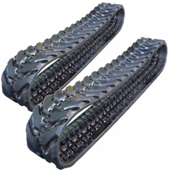 Two Rubber Tracks Fits New Holland E55bx 400x72.5x74 16 Wide