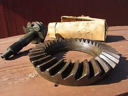 Nos Ford 9 Inch Ring And Pinion 4.57 Fomoco C3uw